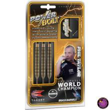 TARGET PHIL TAYLOR POWER BOLT BRASS DARTS